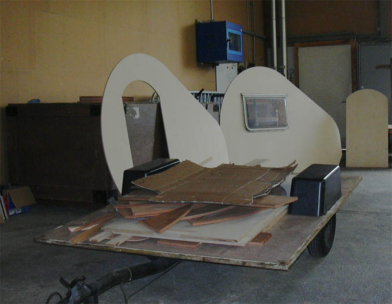 fahrrad campinganh nger selber bauen fahrradwohnwagen. Black Bedroom Furniture Sets. Home Design Ideas